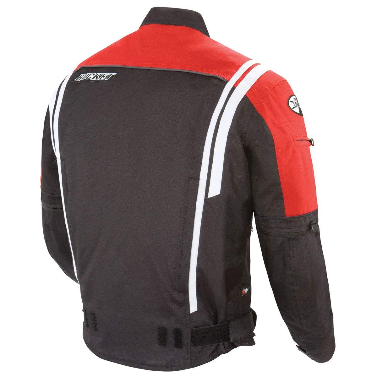 Joe Rocket 1051-5004 Atomic 4.0 Mens Riding Jacket Black, Large