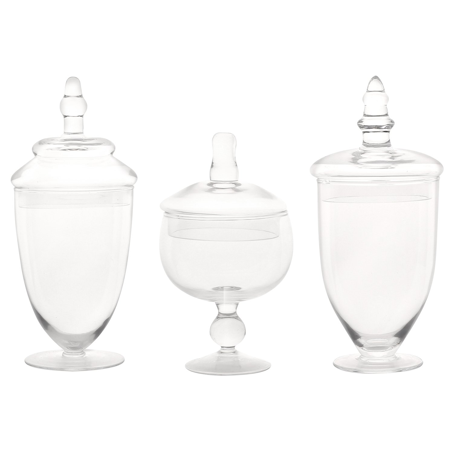 Apothecary Jars (Set of 3)
