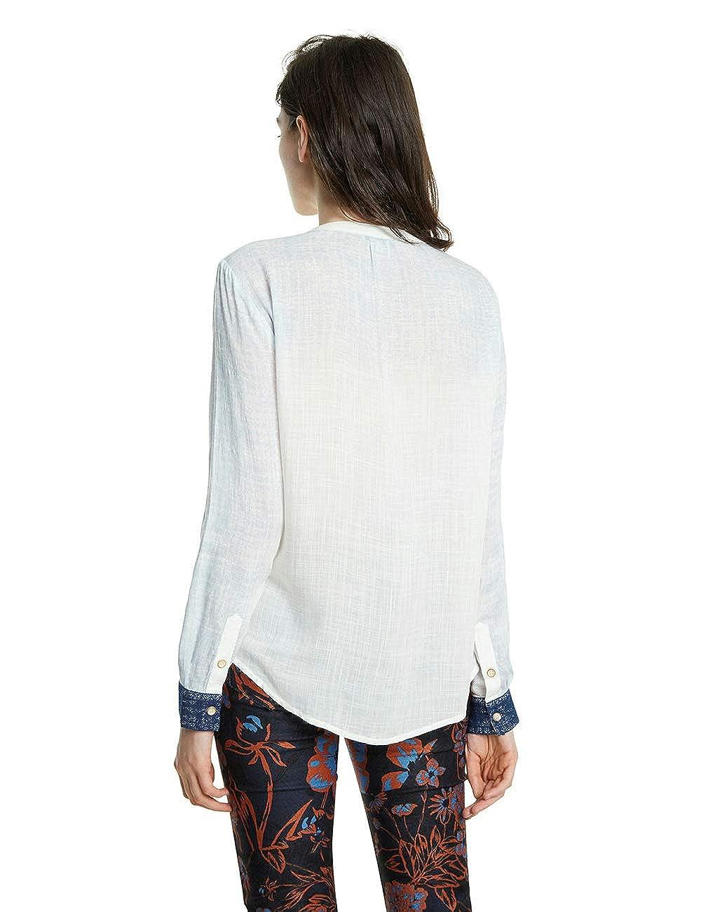 Desigual Cam/_Matera Camicia Donna