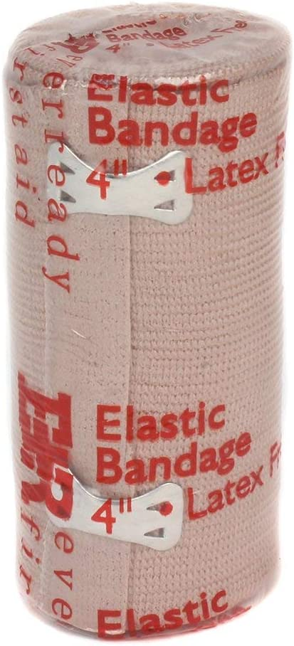 Box of 10 Ever Ready First Aid 4 Elastic Bandage with Clips