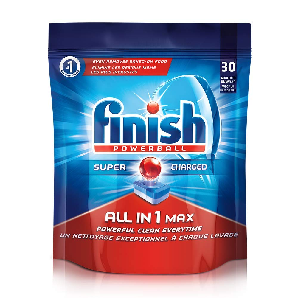 Finish Dishwasher 'All in 1 Max Powerball' - 30 Tablets: Amazon.in ...