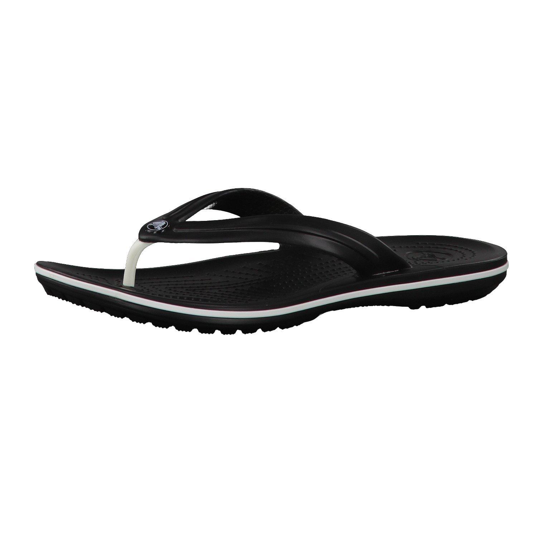 Crocs Crocband Flip Unisex Footwear, Size: 10 D(M) US Mens / 12 B(M) US Womens, Color: Black