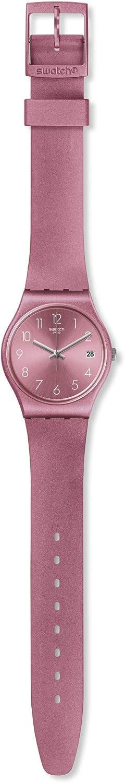 Swatch Reloj Analógico para Mujer de Cuarzo con Correa en Silicona GP404