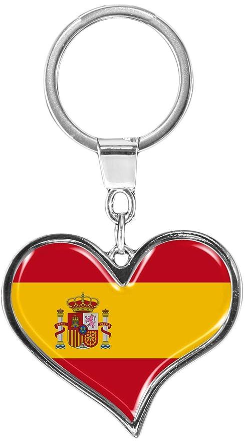 metALUm Llavero de metal / Bandera España / 6611003S