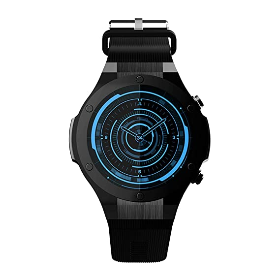 Amazon.com: Docooler Microwear H2 Smart Watch Phone 1.39 inch 1.0GHz Quad Core 3G 5.0MP Camera Android 5.1 Heart Rate Monitor Pedometer 480mAh Battery Calls ...