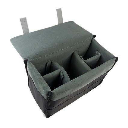 amazon com drf dslr camera case insert padded liner nylon pouch for