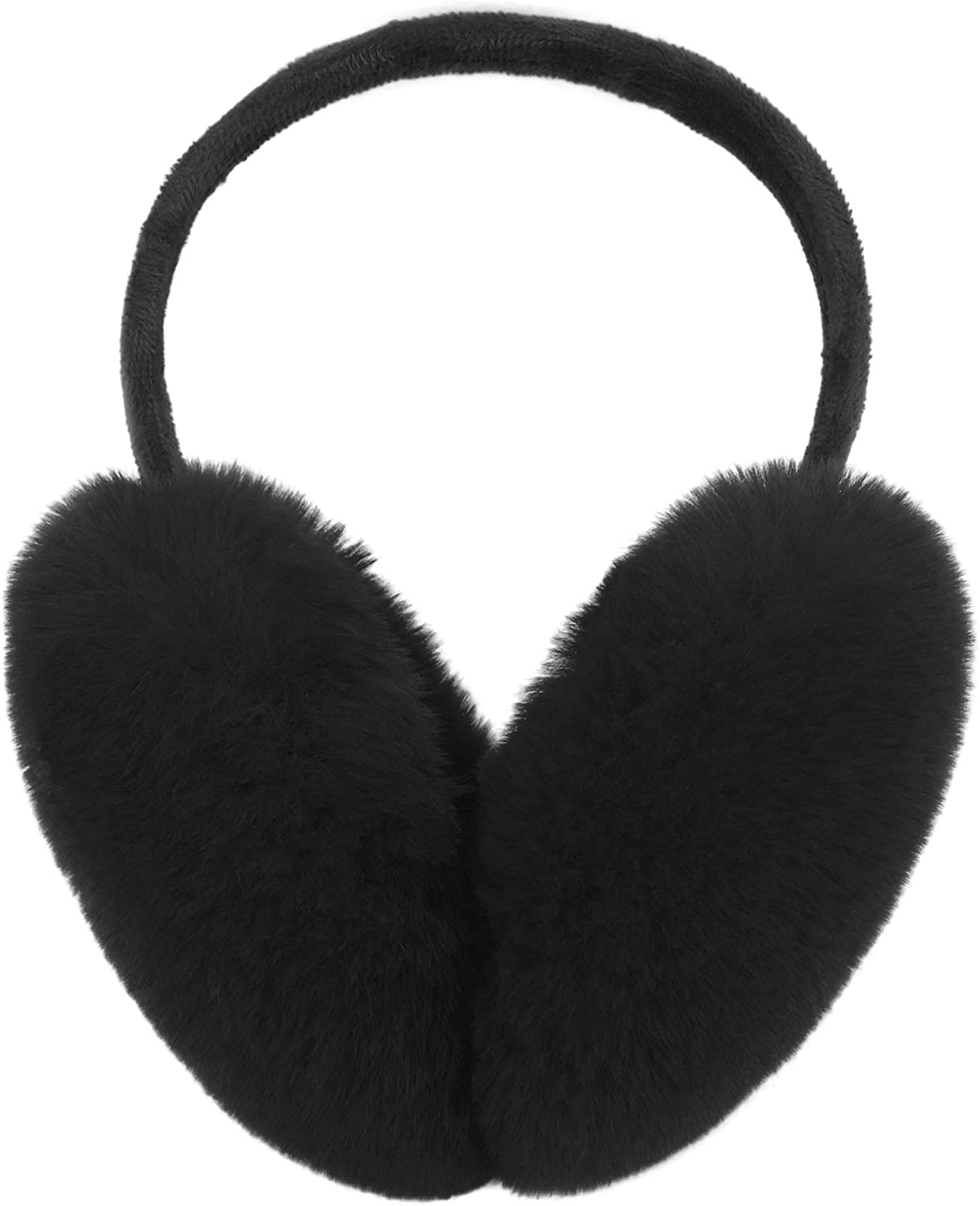 Be Cool Alpaca Black White Quote Winter Earmuff Ear Warmer Faux Fur Foldable Plush Outdoor Gift