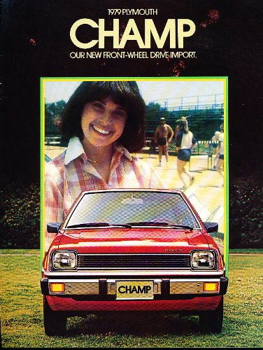 1979 Plymouth Champ Sales Brochure