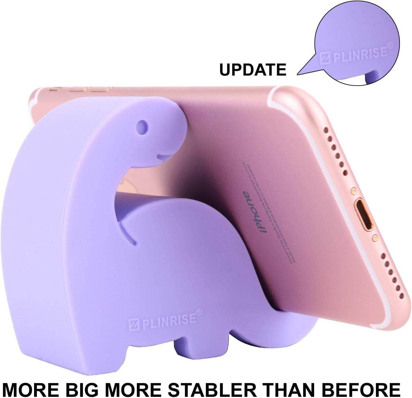 MISIXILE Desktop Cell Phone Stand Holder,Cute Animal Cell Phone Stand,Monkey Shape Cell Phone Holder,Adjustable Phone Supporter for Desk