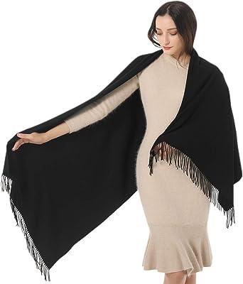 Women Lady Warm Soft Chiffon Pure Oblong Neck Scarf Shawl Wrap Christmas Gift