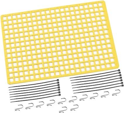 1X Gummi GepäCk Netz Fenster Dekoration für RC Cler Axial SCX10 90046 Wraith q2g