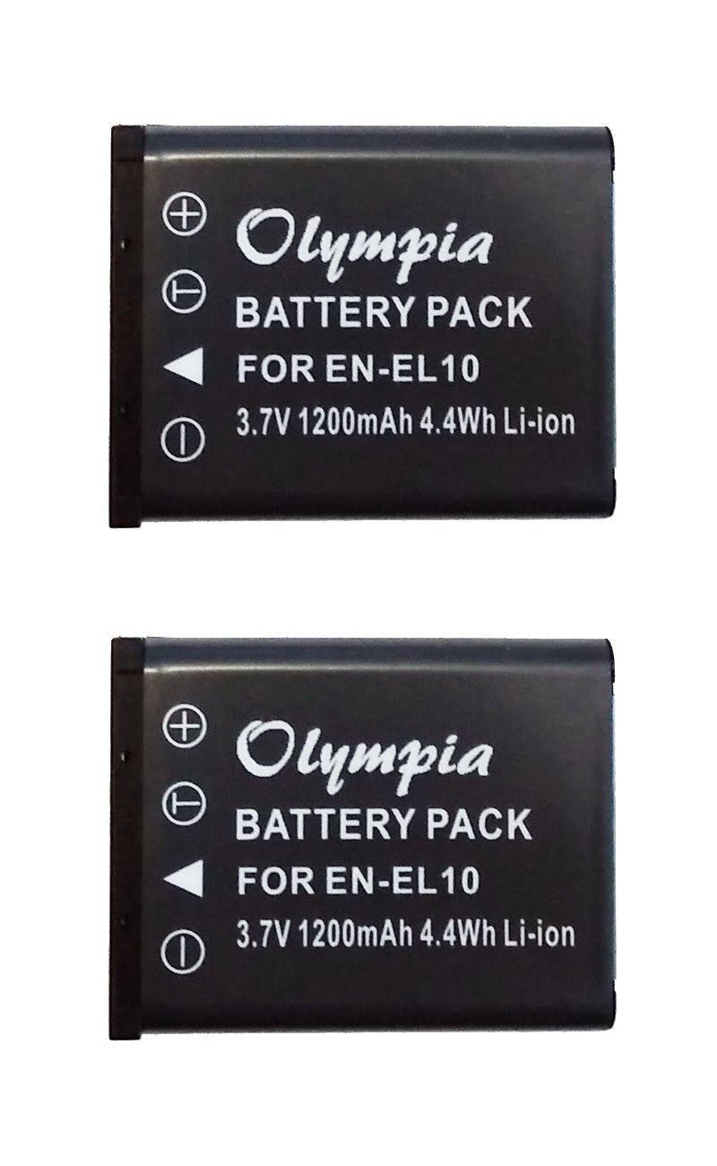 2パックの交換用Sanyo Xacti vpc-t1495バッテリーforデジタルカメラ – ( 1200 mAh , 3.7 V ) Li - Ion充電式バッテリー B00PBQNBUE