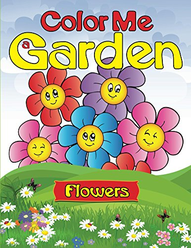 Color Garden flowers Flowers Coloring ebook