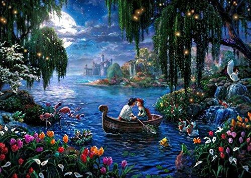 リトルマーメイド 美しいと話題!ディズニー西洋絵画パズル ディズニー公認画家トーマス・キンケードの世界