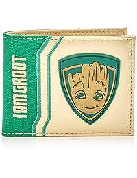 Marvel Comics Guardians Of The Galaxy Vol 2 Groot Bi-Fold Wallet | White/Green
