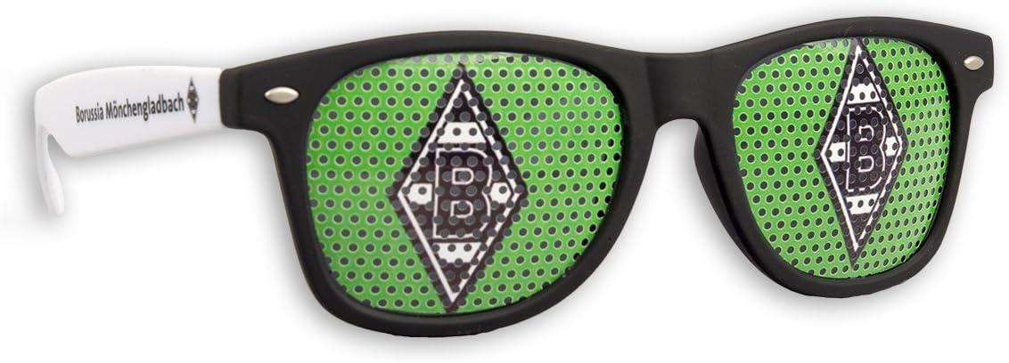 Ohne Logo Gr/ün Blueprint Cologne Borussia M/önchengladbach Sonnenbrille M/önchengladbach Fanbrille Verschiedene Varianten