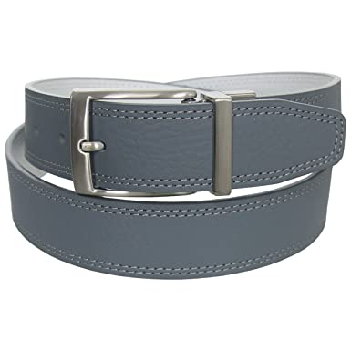 a30b7af96c0 Nike Golf Men s G-Flex Pebble Grain Leather Belt
