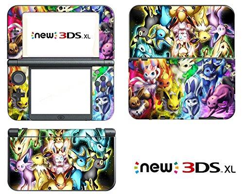 Vanknight Vinyl Decals Skin Sticker Anime for the New Nintendo 3DS XL 2015 (Nintendo Decal 3ds Xl)
