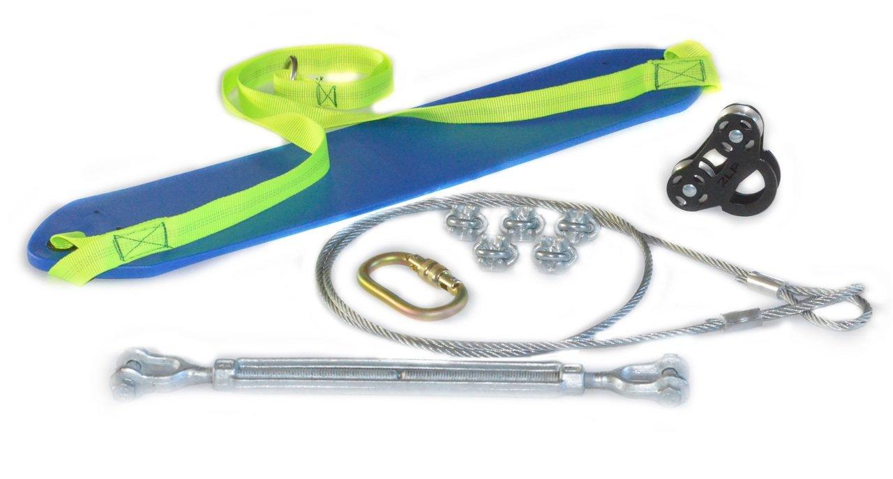 ZLP Manufacturing ZRK-060 Black Raptor Zip Line Kit w/ 60' 1/4'' Cable