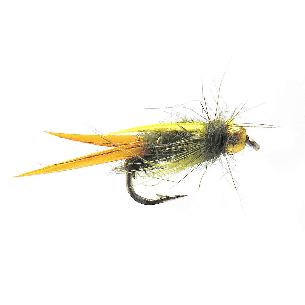 Fly Fishing Flies Hand Tied Fly Pattern CDC Pheasant Tail Nymph 3 Pack
