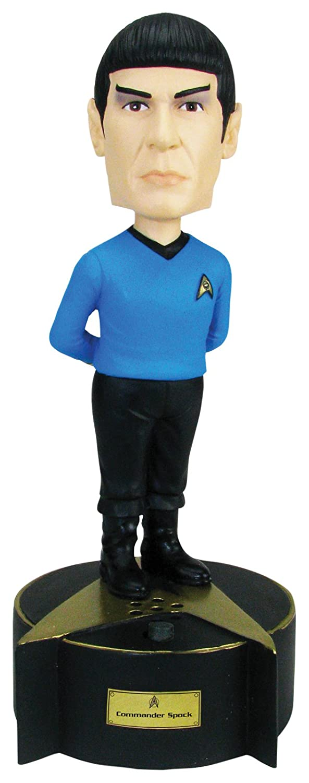 The Original Series Talking Spock Bobble Head Convention Exclusive Action Figure EE Distribution BBP16085 Bif Bang Pow Star Trek