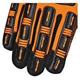 SKATIQ Impact Reducing Safety Gloves SG-1300-G
