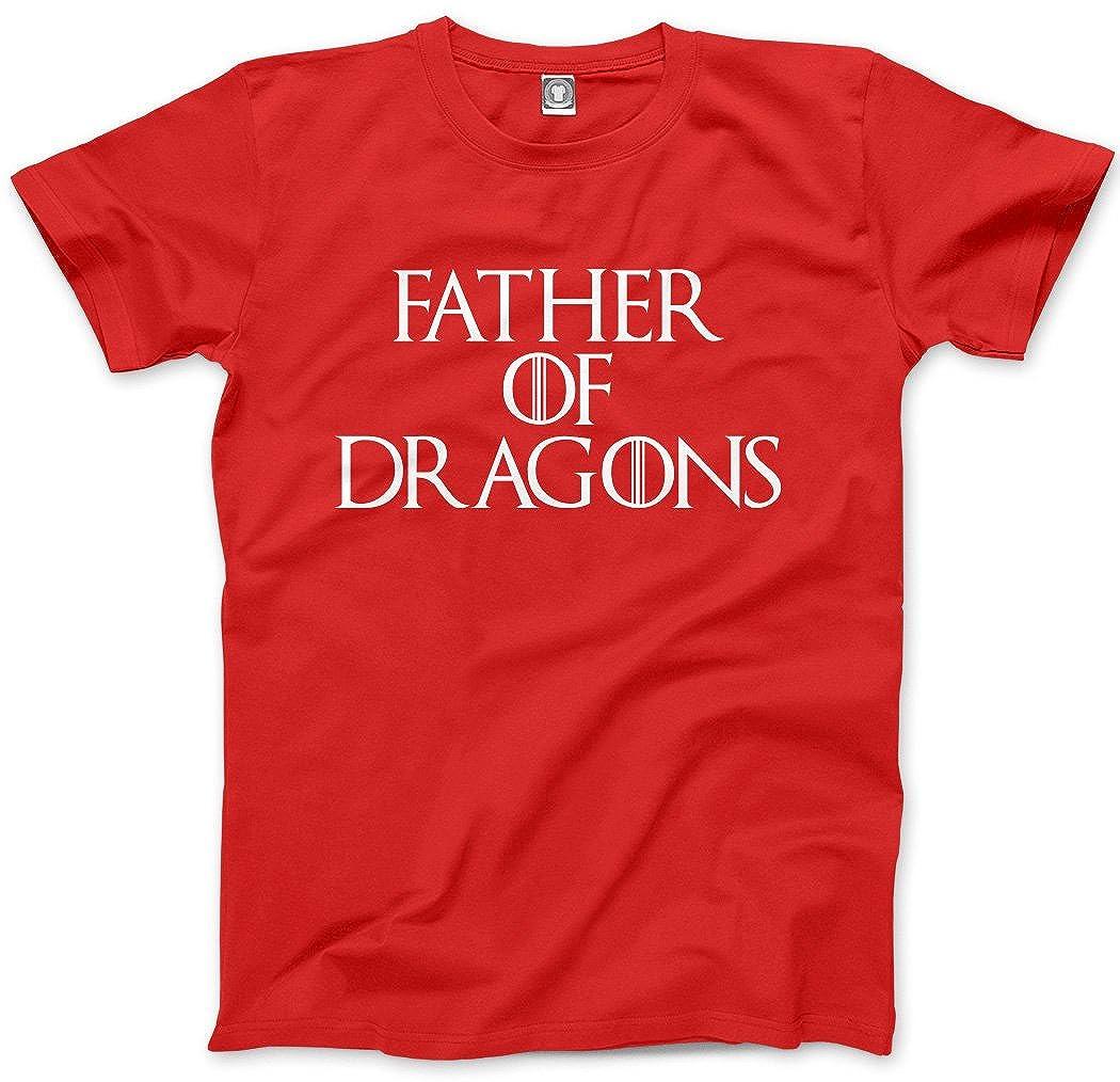 12c49403 HotScamp Father of Dragons - Mens Unisex T-Shirt: Amazon.co.uk: Clothing