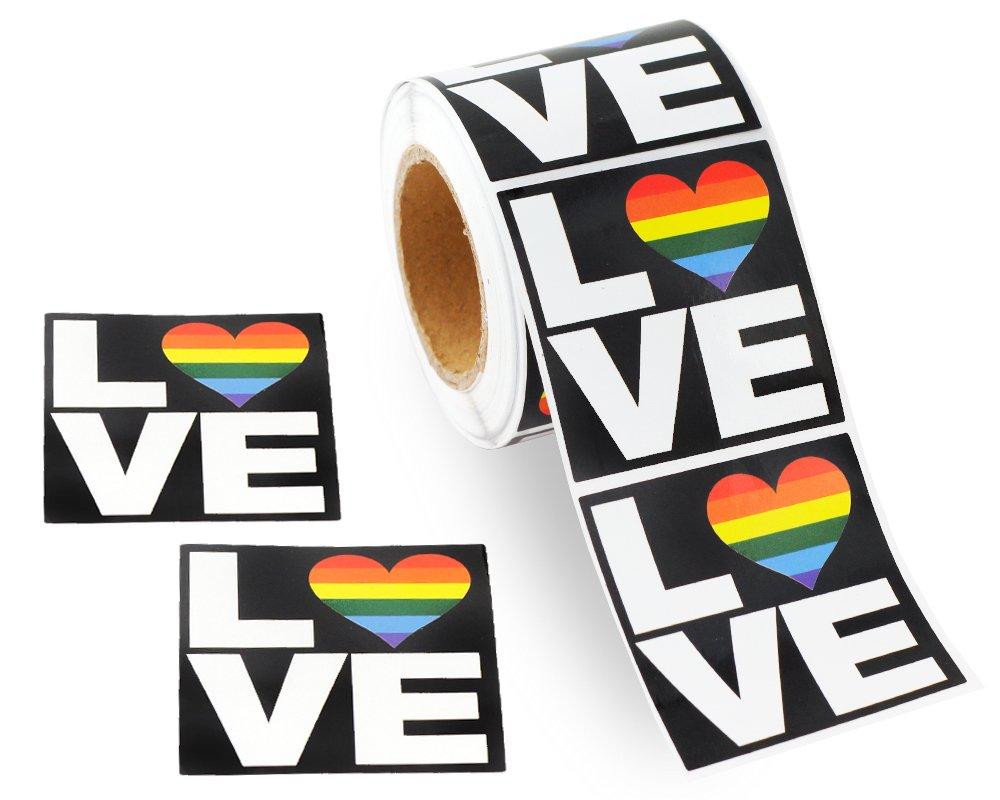 Stickers Calcos 250 un. LGBT Origen U.S.A. (79G6KB8L)