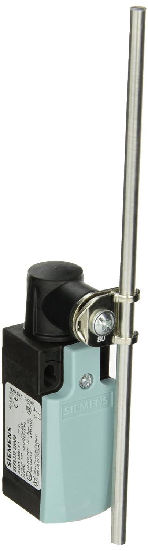 1 NC Contacts 3SE52320HK80 Siemens 3SE5 232-0HK80 Mechanical Position Switch 31mm Width Complete Unit Integrated Plastic Enclosure 200mm Aluminum Rod 1 NO Snap Action Contacts Rod Actuator