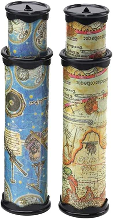 Szsrcywd 2PCS Classic World Kaleidoscope, Magic Kaleidoscope,Best Birthday Gift for Children