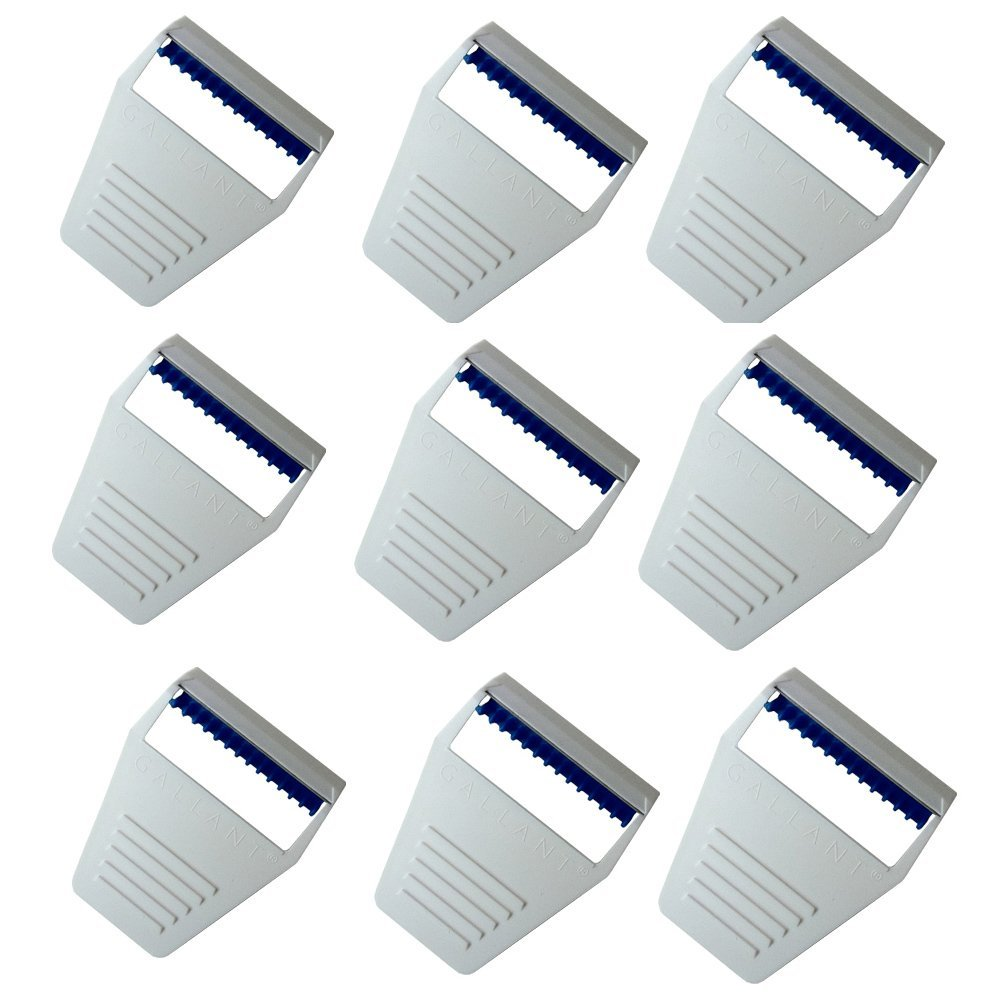 gallant Swezor Surgical Disposable Preparation Razor for Doctor (White) -  Set of 9