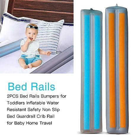 Doble cama rails parachoques para niños hinchable resistente al ...