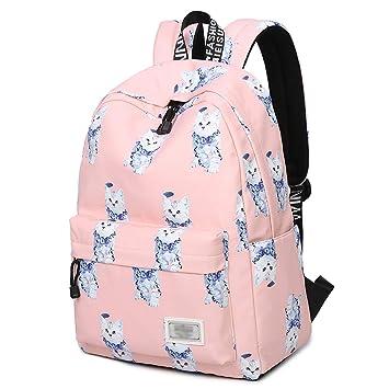 XHHWZB Bolsas de Libros para Adolescentes, Cute Animal Cat/Kitty Mochila para Laptop Mochilas Escolares Travel Daypack Handbag de: Amazon.es: Deportes y ...