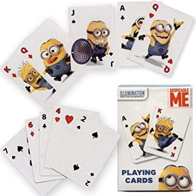 Constructive Playthings Minions Jumbo Playing Cards: Toys & Games