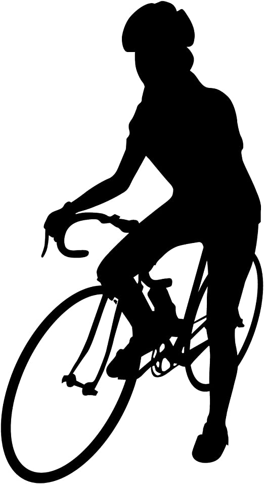 Bicicleta Pared Adhesivo 1 – Adhesivo mural de pegatinas y para ...