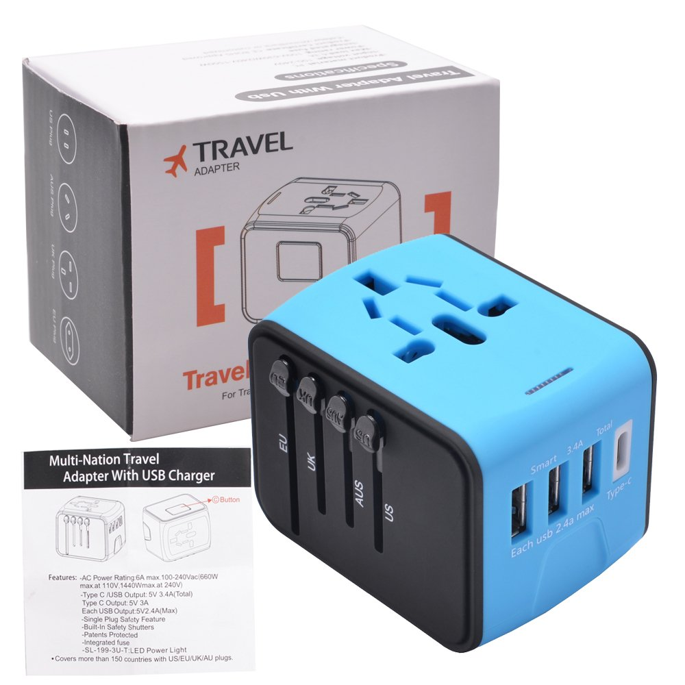 amazon com universal travel adapter all in one international rh amazon com fuse switch christmas lights