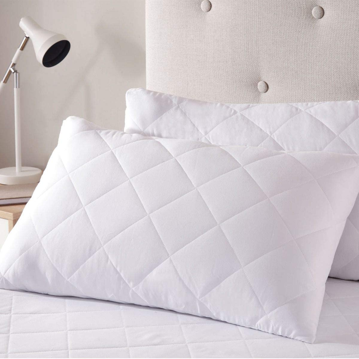 Pillow Protector (2) Quilted