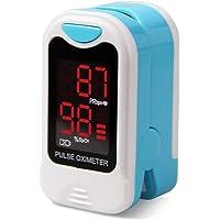 Contec CMS50M Oxímetro de Pulso de Dedo rápido Monitor de SPO2 de osíxeno sanguíneo