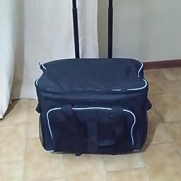 foolsGold Bolsa/Carrito con Ruedas Profesional acolchonado para ...
