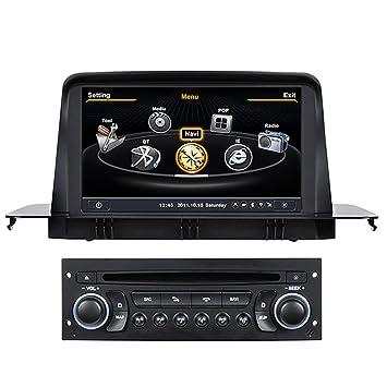 Generic 7 cm A8 Chipest pantalla táctil Radio de coche para winca Citroen C3 coche DVD