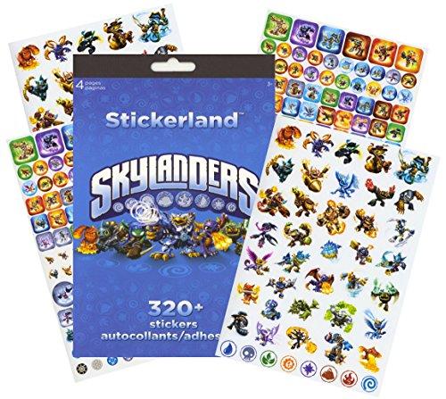 Skylanders Stickers - 320 Stickers! -