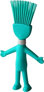 RXXM Silicone Basting & Pastry Brush, Heat Resistant Silicone Brush, Food Brush, Cooking Brush Oil Sauce Butter Marinades Spreader for BBQ Grilling Baking Kitchen and Party, Dishwasher Safe, Teal
