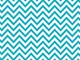 Design Printed Tissue Paper for Gift Wrapping 24 Decorative Sheets 20'' X 30'' (Turquoise Chevron)