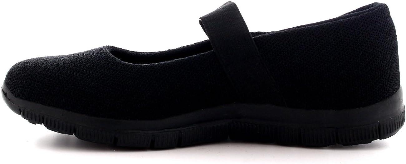 Get Fit Femmes Fonctionnement en Marchant Low Top Sports Travail des Chaussures Gym Mary Jane Formateurs