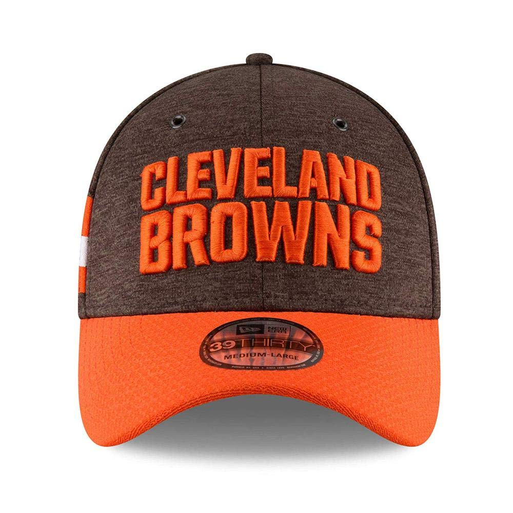 New Era 39Thirty Cap Sideline Home Cleveland Browns