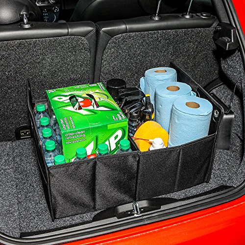 Gencase Collapsible Trunk Cargo Organizer Best for SUV, Vans, Cars, Trucks. Premium Car Fold Storage Container