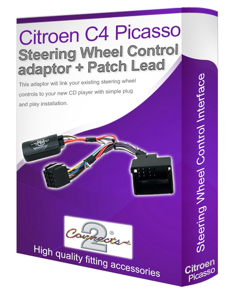 61IfzEBXrBL._SL1034_ citroen c4 radio stereo wiring harness adapter lead amazon co uk citroen c4 stereo wiring diagram at virtualis.co