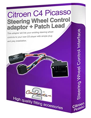 Citroen c4 radio stereo wiring harness adapter lead amazon citroen c4 picasso car radio adapter connect your steering wheel stalk controls cheapraybanclubmaster Choice Image