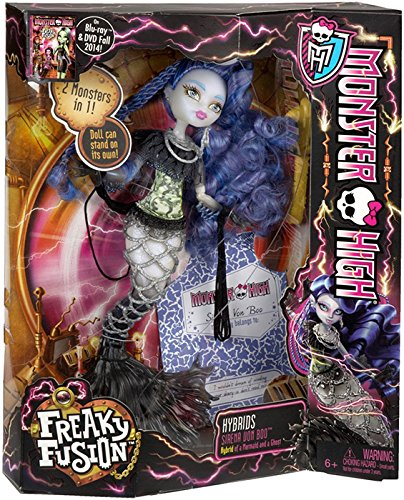 Monster High Freaky Fusion Sirena von Boo Doll (Discontinued by (Monster High Sirena Von Boo Costume)