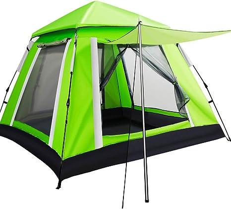 MAI&BAO Carpa Tienda de campaña para Fiestas sombría, marquesina toldos Impermeable, Carpa para Eventos, Camping Tienda de Campaña Familiar para 3-5 Personas,Greenb: Amazon.es: Deportes y aire libre